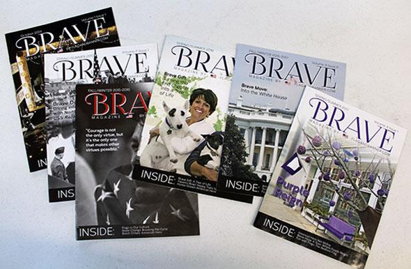Brave Magazine Issues