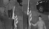Image screenshots from surveillance video