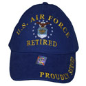 US Air Force Retired Hat, AHAT00403