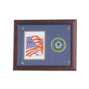 Coast Guard Medallion Picture Frame, ALF59005