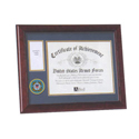 Coast Guard Medallion Award Frame, ALF59025