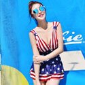 Patriotic Bathing Suit, FBPP0000013570
