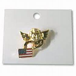 USA Angel Lapel Pin, APINUSAN