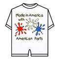 Made in America Romper