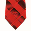 Arkansas Razorbacks Woven Plaid Tie, ATIE5316