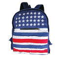 American Flag Backpack, BAGB607