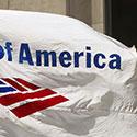 Custom logo flag for Bank of America