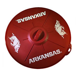Arkansas Razorbacks Silicon Lid, BOBRLID