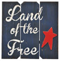 Land of the Free Wall Hanger, BOIN93632