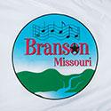 Custom flag for the city of Branson, Missouri