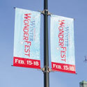 Best Street-Pole DOUBLE Banner Kits