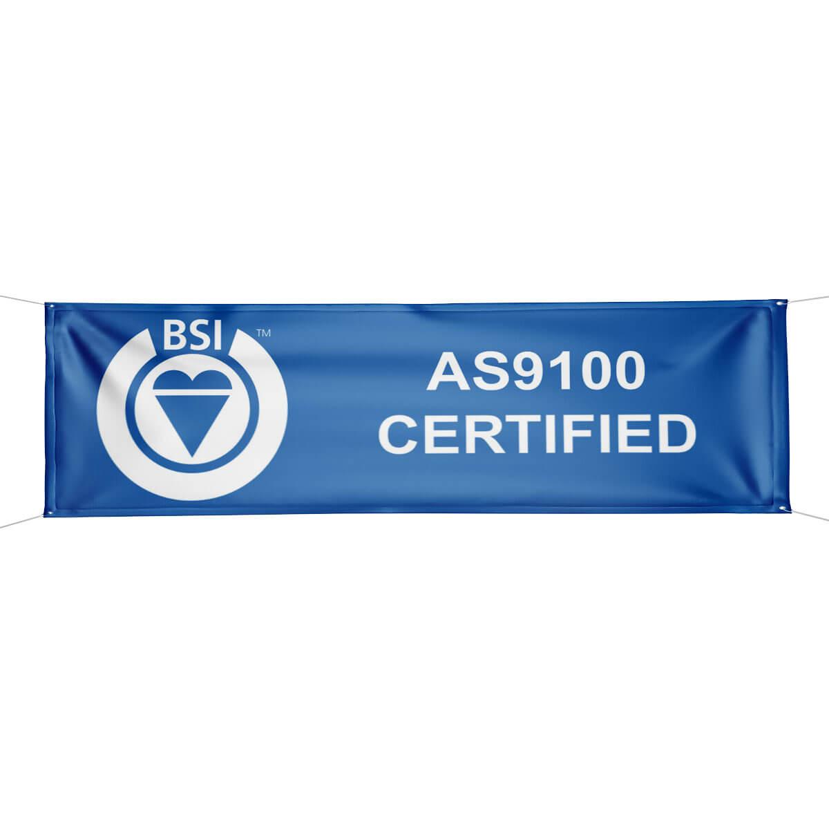 Bsi As9100 Certified Banner