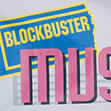 Custom Blockbuster Music Flag