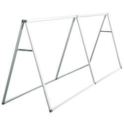 Horizontal A-Frame Display for 8 ft Banners, CB210106