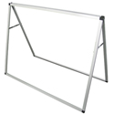 Horizontal A-Frame Display for 4 ft Banners, CB210108