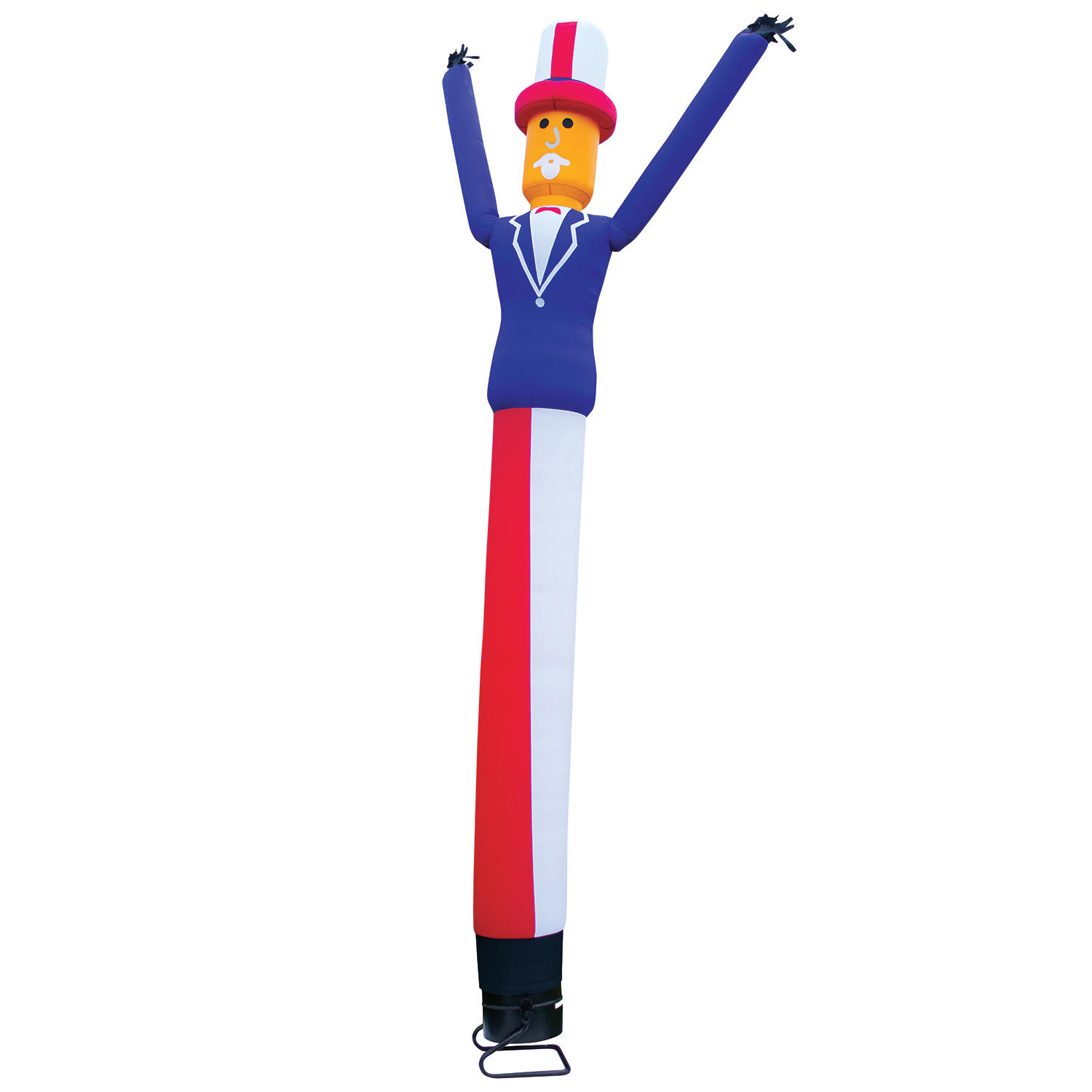 Uncle Sam Inflatable Dancing Man With Blower 18 Ft