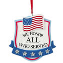We Honor All Who Served Ornament, CBK129500