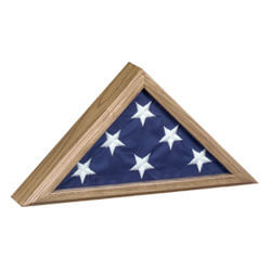 Veteran Flag Display Case, CCASKFIC1
