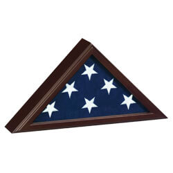 Trooper Flag Display Case, CCASKIFCP