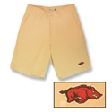 Arkansas Razorbacks Khaki Shorts
