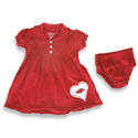 Infant Razorback Preppy Dress, COLO258136