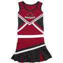 Arkansas Razorback Cheerleader Outfit, COLOCHEER36