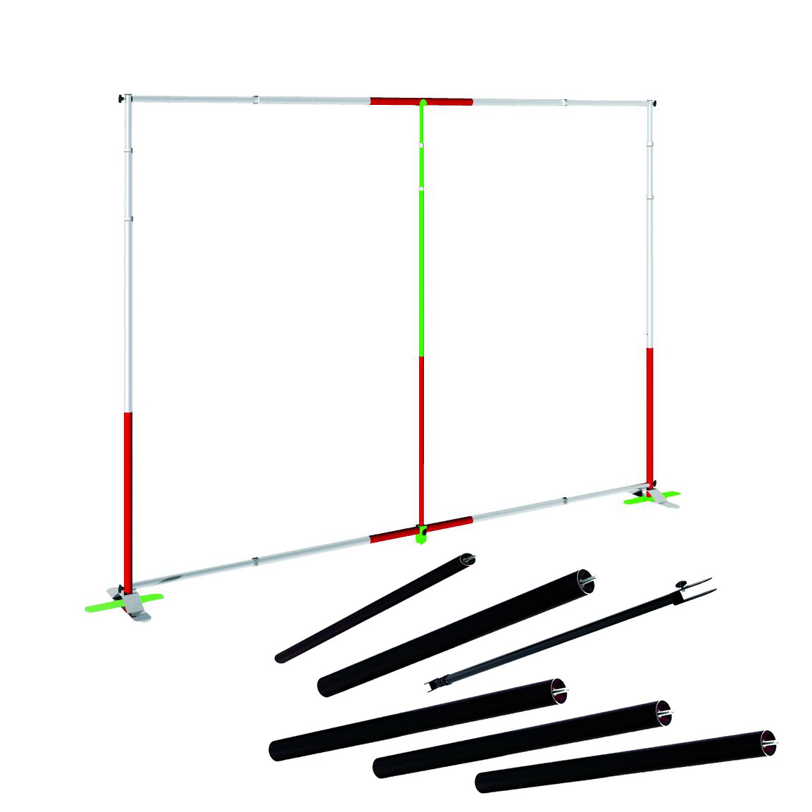 Conversion Kit For Adjustable Large Format Banner Stand, CSTANJN5C1B