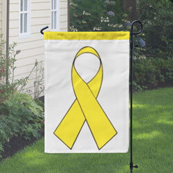 Yellow Ribbon Banner, DBANN1218YELLOW