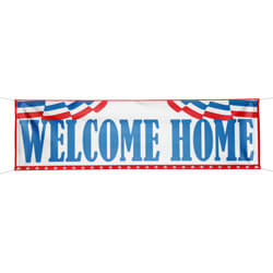 Welcome Home banner, DBANN38WH