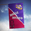 Arkansas Razorbacks VS LSU House Divided Banner, DBANN87896012