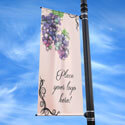 Grapes Street Pole Banner