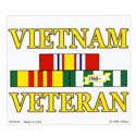 Vietnam Veteran Ribbon Sticker, DECDC8144