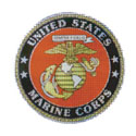 US Marine Sticker, DECDEX001