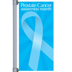 Ovarian Cancer Awareness Street Pole Banner, DEKCHPRC1836S