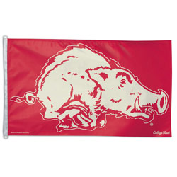 College Vault Arkansas Razorbacks Flag, DFLAG23649013