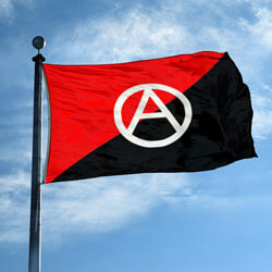 Anarchist Flag,DFLAG35ANAR