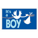 It's a Boy Flag, DFLAGBOY35