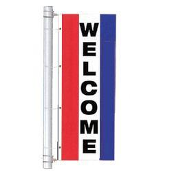 Welcome Drape Flag, DFLAGNS38L