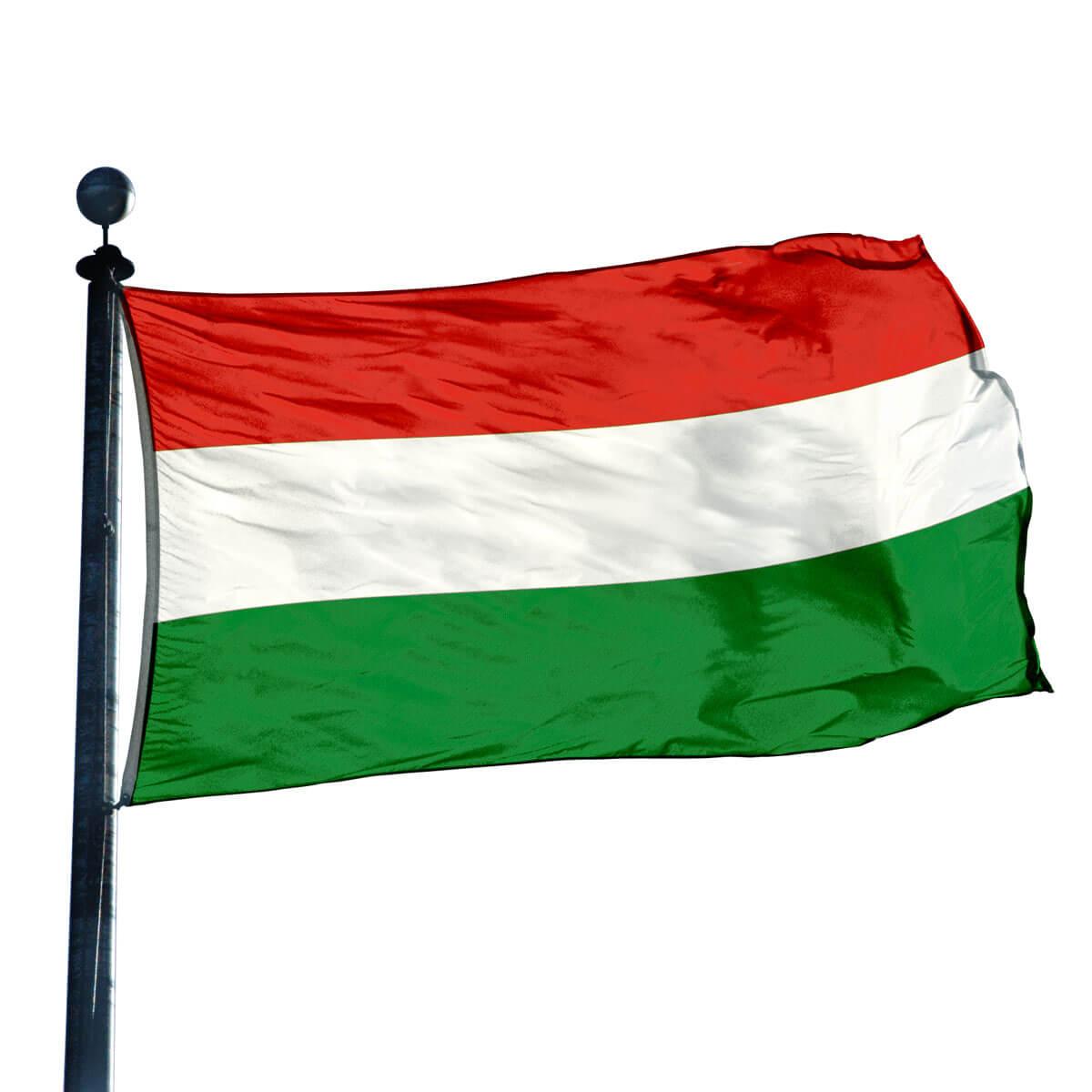 Triple Stripe Flag: Red/ White/ Green - photo#1