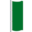 Bright Green Color Drape Flag, DFLAGNY25BG