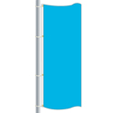 Nylon Bright Blue Drape Flag