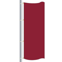 Nylon Brick Red Drape Flag