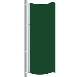 Nylon Dartmouth Green Drape Flag, FBPP0000010280