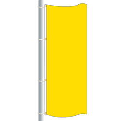 Nylon Fm Yellow Drape Flag, FBPP0000010285