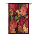 Colorfull Fall Leaves Banner, EE131862