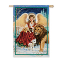 Angel, Lion and Lamb Banner