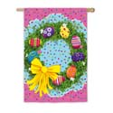 Easter Egg Wreath House Banner, EE13A2736