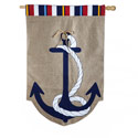 Nautical Anchor Banner (28 in x 44 in), EE13B3370