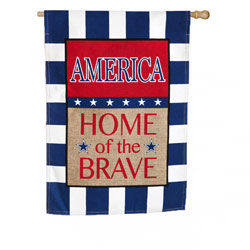 America Home of the Brave Banner, EE13B3372