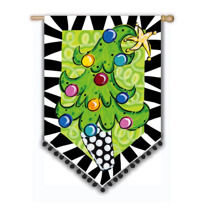 Tom Tom Christmas Tree House Banner 20131017 234590
